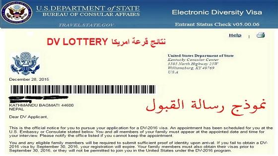 Electronic Diversity Visa Program