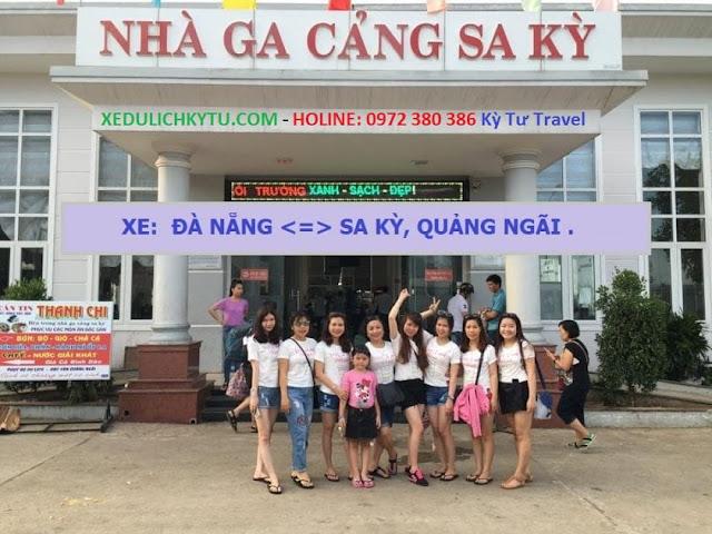 Xe du lịch từ Đà Nẵng đi Cảng Sa Kỳ giá rẻ