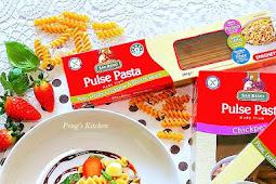 Strawberry Caprese Pasta Salad with Balsamic Glaze