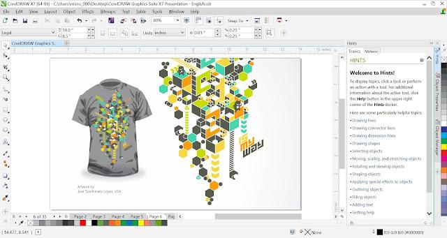CorelDraw Graphics Suite X7   Computer Software