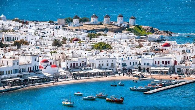 Μύκονος: Πάνω απο 10% η αύξηση της τουριστικής κίνησης