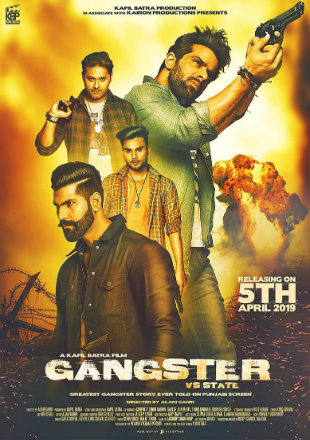Gangster vs State 2019 Full Punjabi Movie Download HDRip 720p