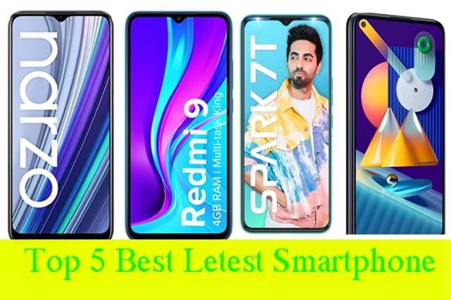 Top 5 Latest Smartphone Under 10000 In India 2021