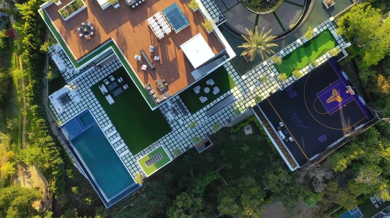 96 Photos vs. Tour 1047 N Bundy Drive, Los Angeles, CA Ultra Luxury Mega-Mansion Interior Design