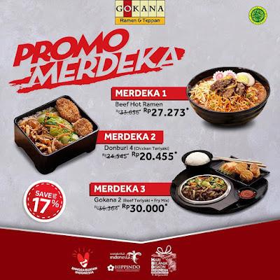 #Promosi247 #Gokana - #Promo Paket Merdeka 1 s.d 3 Harga Mulai 20K (s.d 31 Agustus 2020)