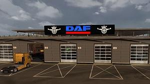 DAF garage mod