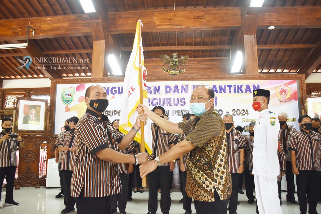 Jadi Ketua KONI Kebumen, HD Sriyanto Bakal Bentuk KOK