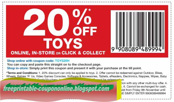 Toys r us in store coupons 2018