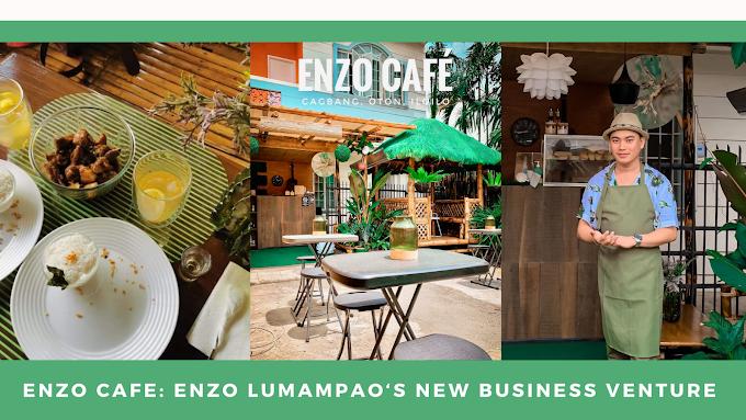 Enzo Cafe, newest coffee shop in Oton Iloilo