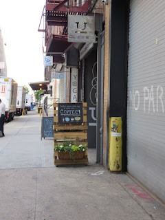 High Line coffee recommendation: Underline Coffee located under the High Line in New York City