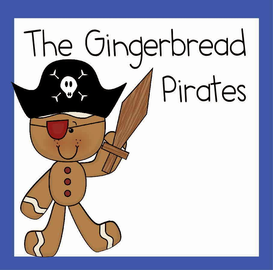 The Gingerbread Pirates Worksheets for Kids - free printable worksheets for preschool, kindregarten, 1st grade, and 2nd grade students perfect for some extra fun at Christmas