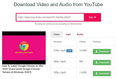 Cara Download Video Youtube Tanpa Aplikasi dengan Y2Mate.com