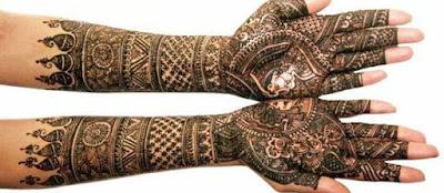 latest bridal mehndi designs 2017 for hands for full hands (6)