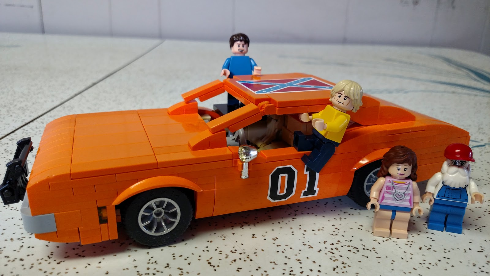 Dukes of Hazzard Collector: Announcement: Lego General Lee ...