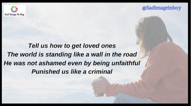 Sad Girl Images With Quotes | feeling sad images, sad pictures of love boys and girls