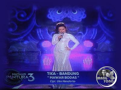 """Tika Bandung Bintang Pantura 3 lagu """"Mawar Bodas"""""""
