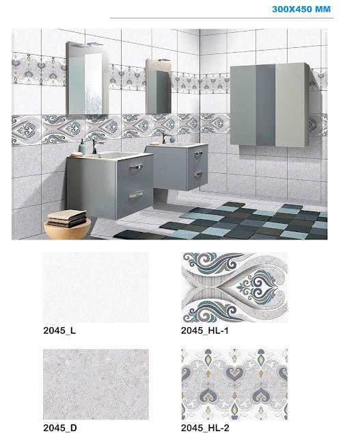 Digital Wall Tiles for Bathroom