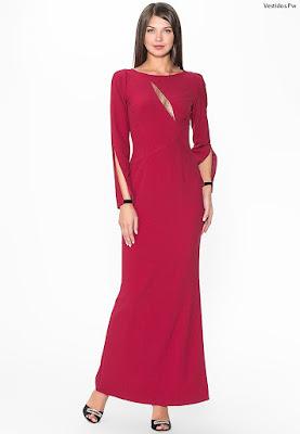 Vestidos de gala largos rojos