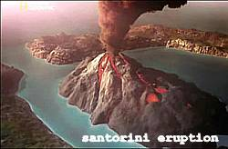 Santorini Eruption