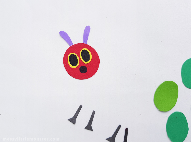 The Very Hungry Caterpillar Paper Craft