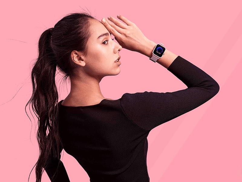 Amazfit Bip U is a lightweight, smartwatch