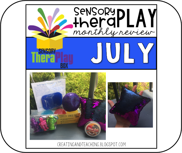 Sensory TheraPlay Box!--July Review
