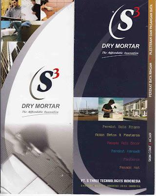 Mortar Instan : S 3 DRY MORTAR