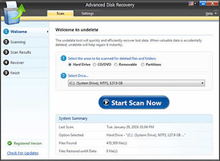برنامج Advanced Disk Recovery