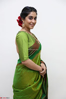 Regina Caasandra Looks Absolutely Gorgeous in Green Saree Choli At Sankarabharanam Awards 2017 ~  Exclusive 008.JPG