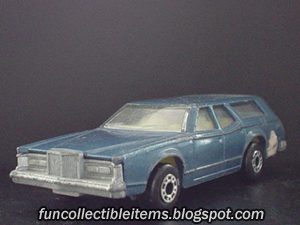 Blue Cougar | Matchbox Car