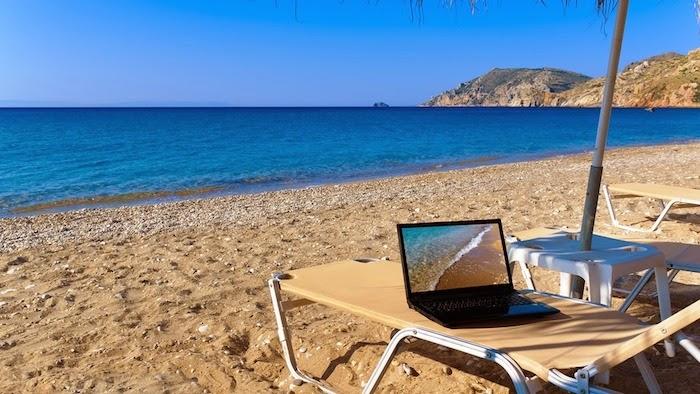 Nômades digitais - trabalhar a distância