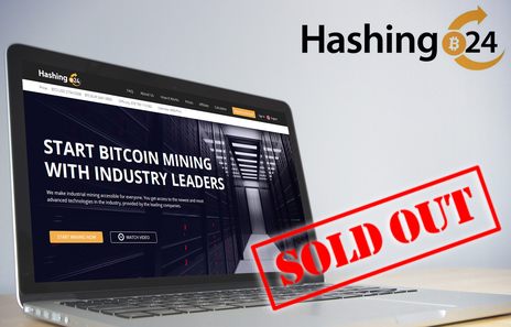 Mining Power Hashing24 Sold out