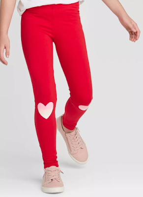 Cat & Jack Heart Leggings
