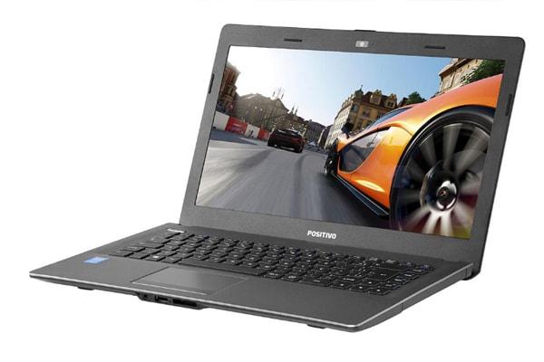 Notebook Positivo i7 com 3.1 GHz de velocidade