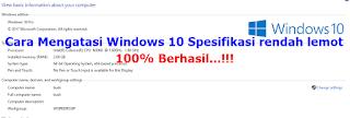 Cara Mempercepat Kinerja Windows 10 Anti Lemot