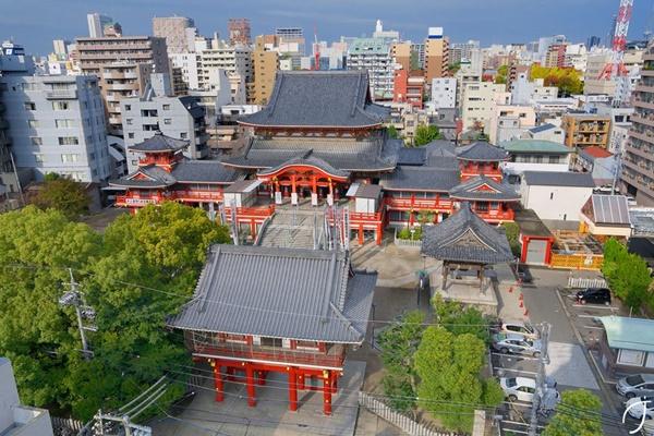 วัดโอสึคันนง (Osu Kannon Temple: 大須観音)