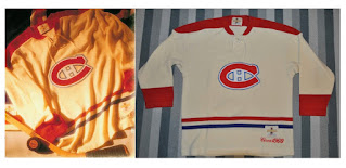 NHL CCM Heritage Jersey Collection - Montreal Canadiens circa 1960