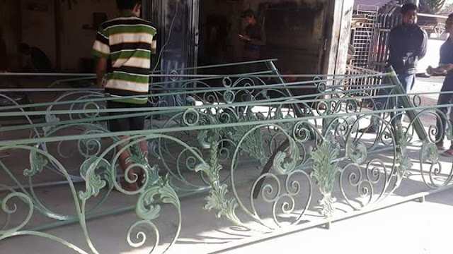 Contoh balkon tempa bengkel las bogor