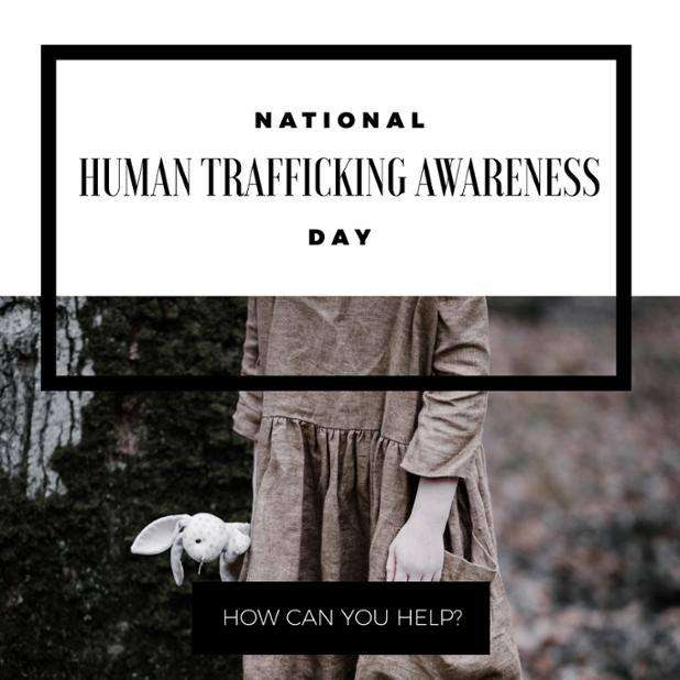 National Human Trafficking Awareness Day Wishes Unique Image