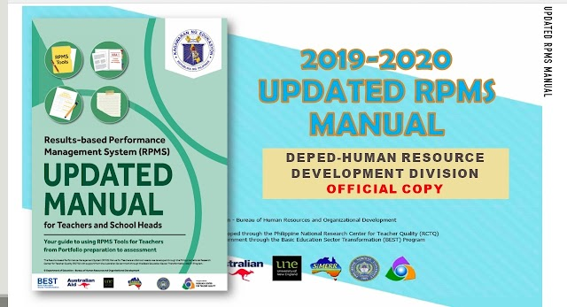 Updated RPMS Manual for Teachers and School Heads (June 2019 Edition)