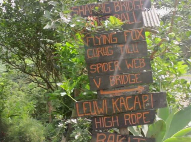 Curug Tilu Leuwi Opat merupakan salah satu objek wisata alam yang ada di tempat Bandung Curug Tilu Leuwi Opat - Keindahan Wisata Alam di Bandung Barat