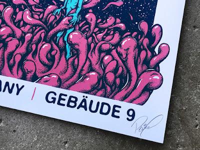 Mudhoney poster signature