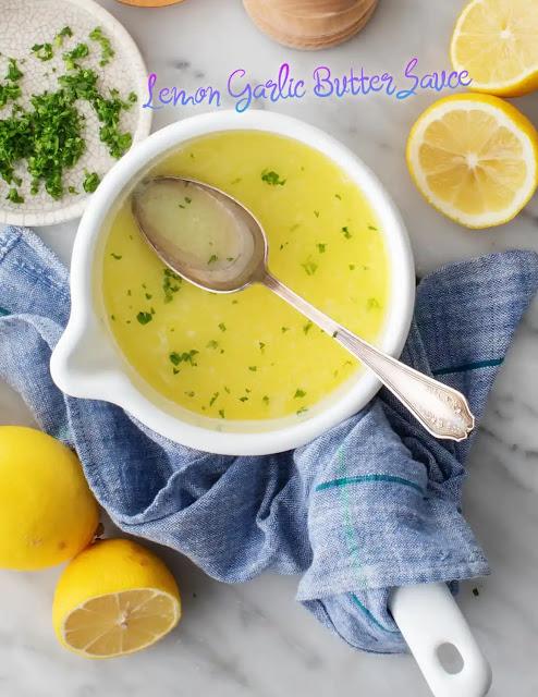 Lemon Garlic Butter Sauce