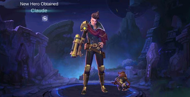 Hero Baru Claude di Game Mobile Legends