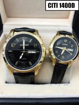 đồng hồ nữ dây da citizen 1400đ