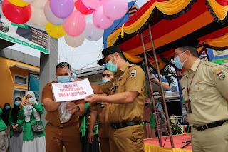 Bupati Benny Dwifa Buka Secara Resmi Kegiatan Gebyar PKH Cinta Vaksin di Nagari Tanjung Gadang