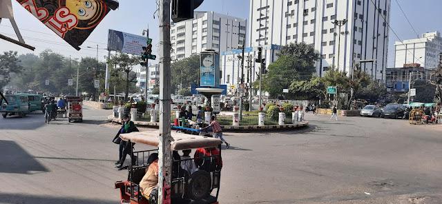 Kapurthala Square of Lucknow