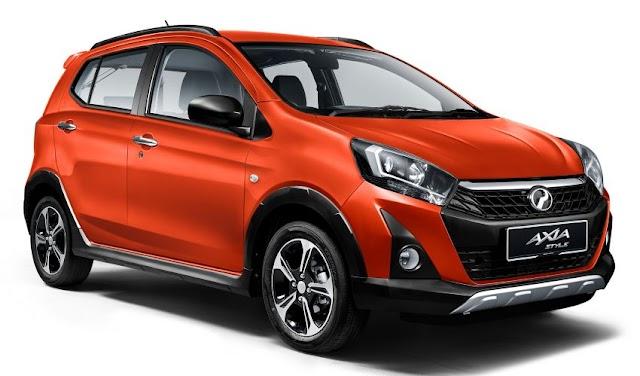 Perodua Axia Facelift 2019 dilancarkan!