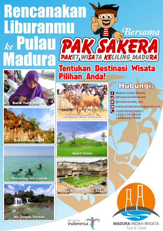 Jasa Tour Travel Paket Wisata Di Pulau Madura Gerbang Pulau Madura