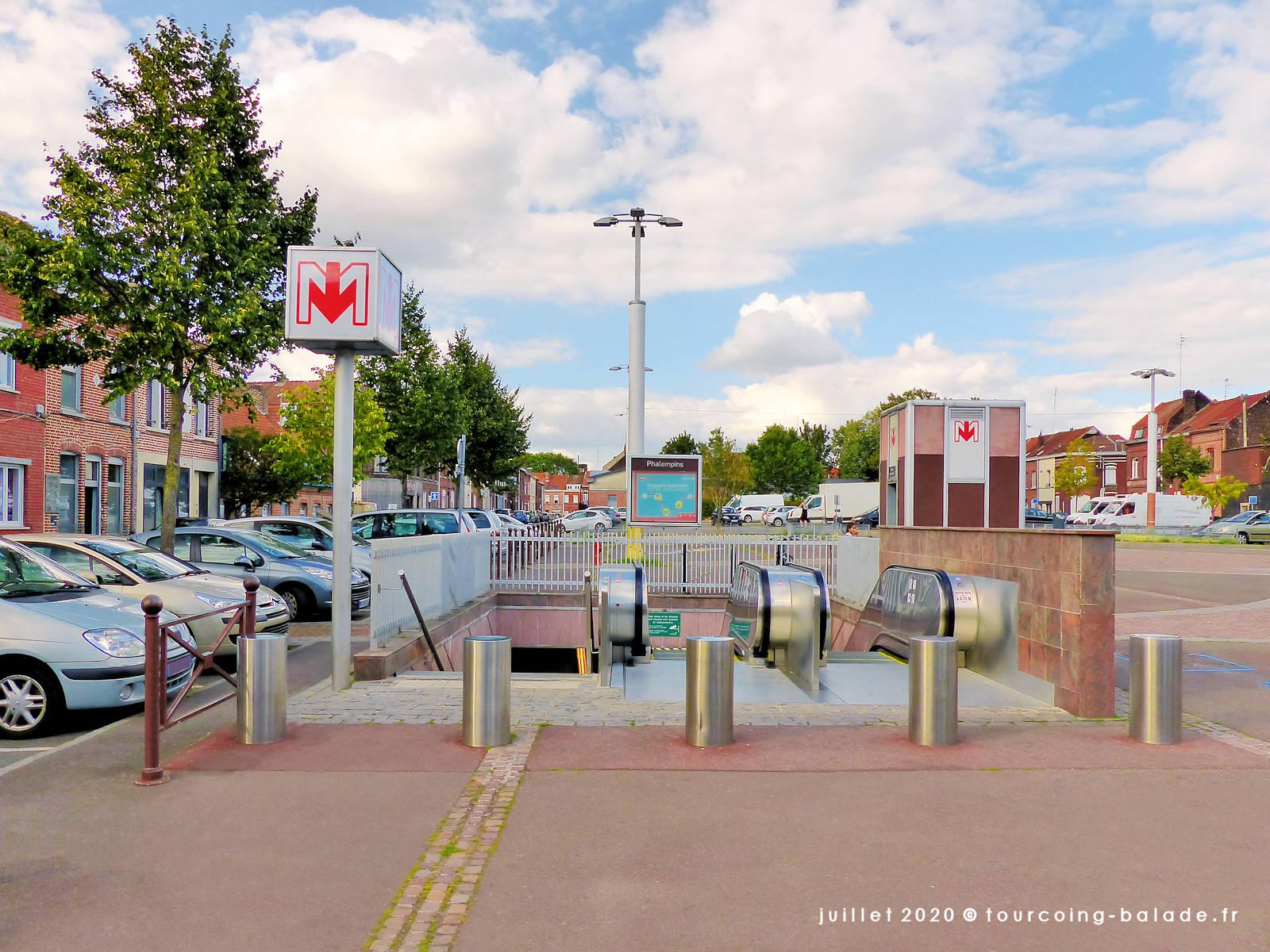 Station de Métro Phalempins, Tourcoing 2020